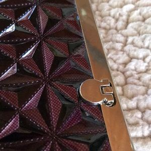 Bags - Quilted Purple Wallet/Wristlet